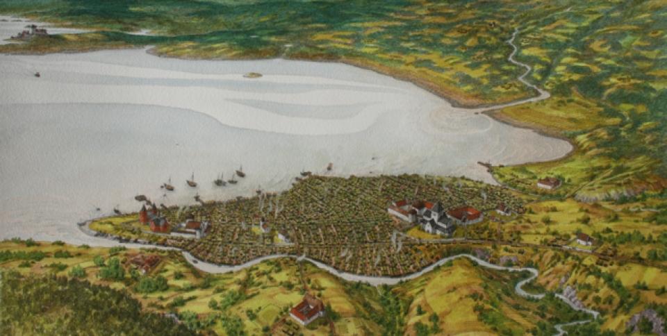 Keller-middelalderbyenca1300